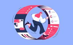 知客CRM界面改进:更直观的360度客户视图