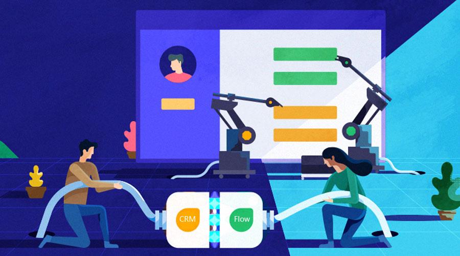 知客CRM新功能:可自动触发的工作流